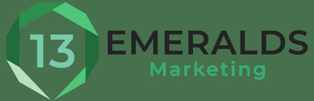 13 Emeralds Marketing Logo